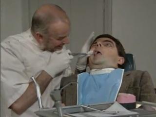 Мистер Бин у стоматолога...я его обожаю